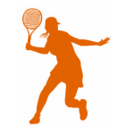 tennis figure 1 orange